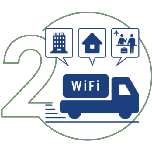 PUPURU WiFi Rental Japan - Easy Pickup & Easy Return